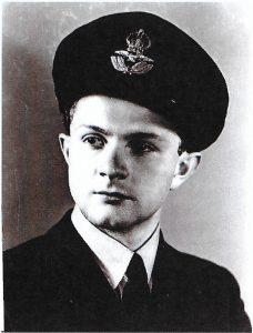 Young Ian Karten in RAF uniform