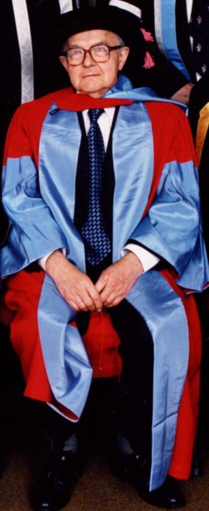 Ian karten recieves an Honoraray PhD